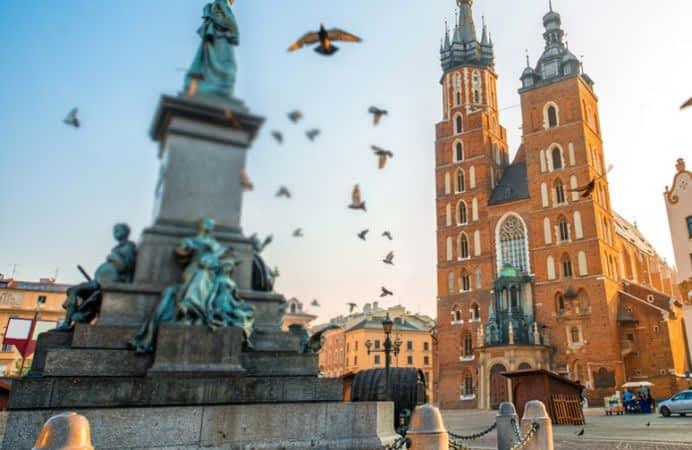 Viaje a Polonia, Cracovia