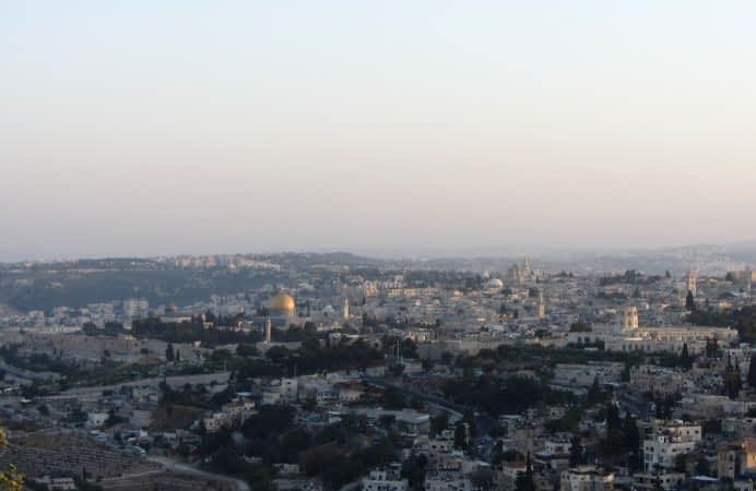 Un Brindis por la Paz de Jerusalén
