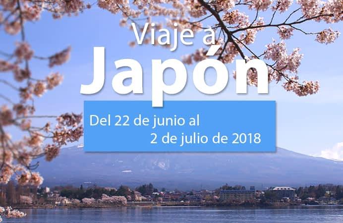 VIAJE A JAPÓN. DEL 22 DE JUNIO AL 02 DE JULIO 2018