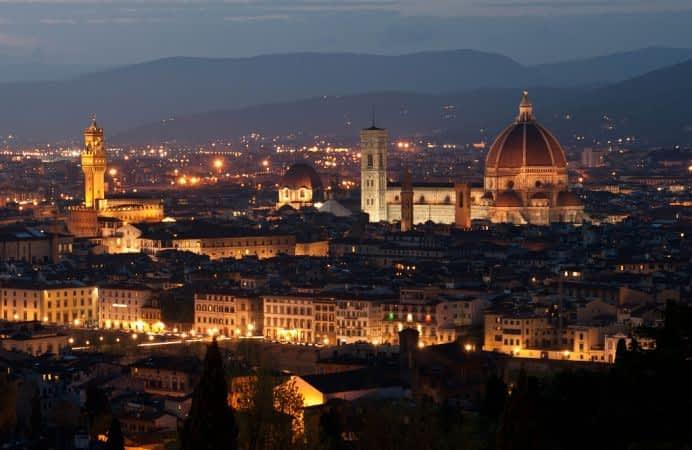 Una Peregrinación por Italia : en Siena, Pisa y Florencia.