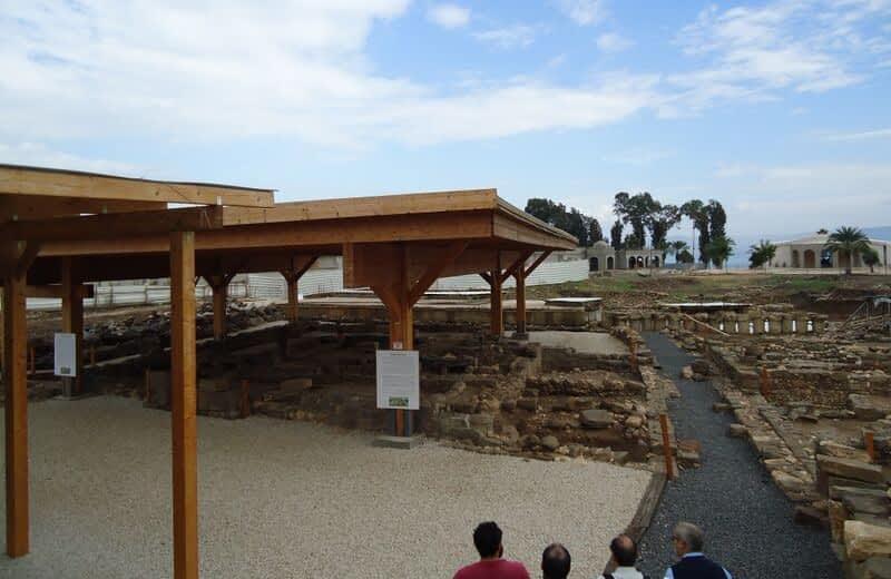 Arqueología en Magdala