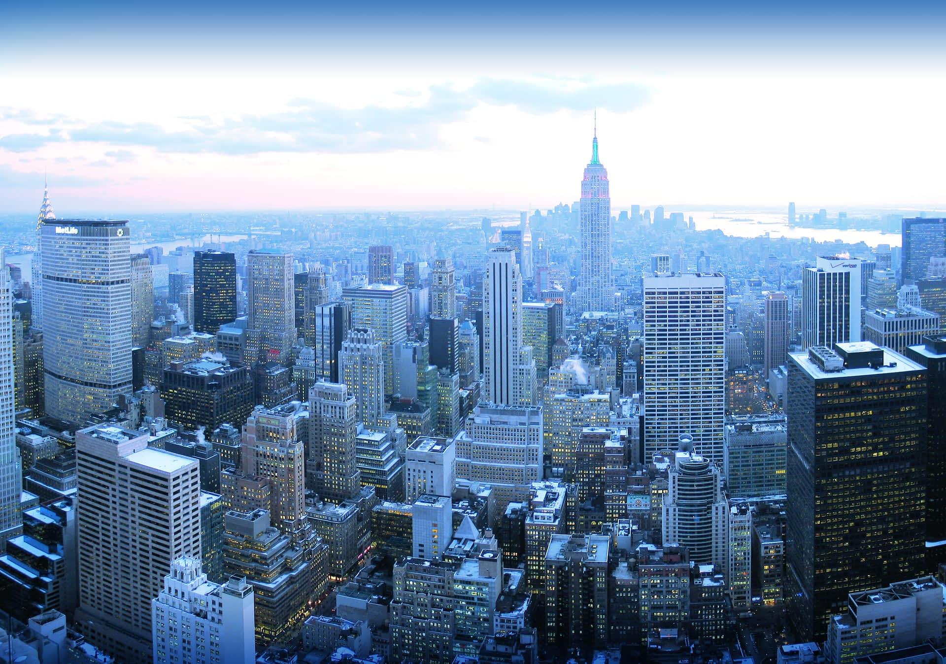 New York, Philadelphia  y Washington